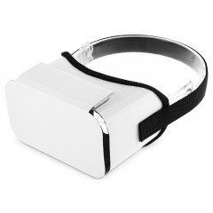 iBlue DIY Cardboard 3D VR Virtual Reality Glasses  WHITE