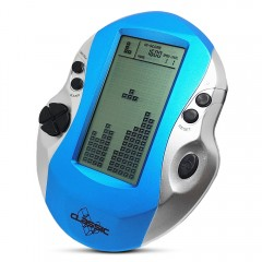 4.1 inch Handheld Game Console Battery Powered for DEEP SKY BLUE