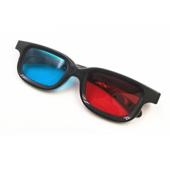 New Stereoscopic 3D Red and Blue Movie Glasses RED BLUE