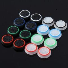 16pcs Antiskid Key Cap Button for PS4 Playstation  COLORMIX