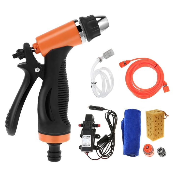 12V 60W High Pressure Cleaning Pump Car Washing Ma MULTI-A