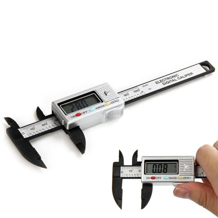 Precision 100mm Vernier Calipers Electronic Digita AS THE PICTURE