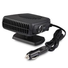 YA0212 12V 150W Car Heater Fan Heating Dryer Windshield Demister Defroster BLACK