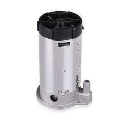 12V / 24V Universal Vehicle Air Horn Pump Mini Replacement Compressor Durable Zinc Alloy Material SILVER 12V POWER