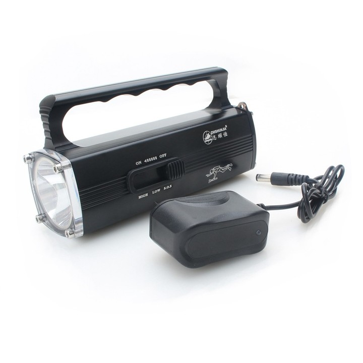 ZHISHUNJIA 3-Mode XM-L2 White Light Diving Flashlight / IPX8 100m Diving Depth BLACK 1PC
