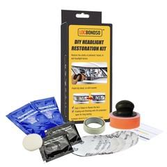 LOCBONDSO Car DIY  Headlight  Scratch Manumotive Restoration  Kit  Repair Tool TRANSPARENT