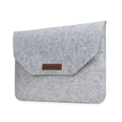 13.3 inch Tablet / Laptop Sleeve Bag Carrying Protective Case LIGHT GRAY