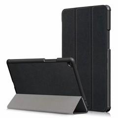 For XiaoMi Mi Pad 4 Plus Smart Cover Tablet PU Folding Case BLACK