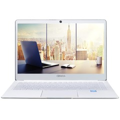 Cenava P14 Notebook 14 inch Windows 10 Home Version Intel Celeron N3450 Quad Core 1.1GHz 6GB RAM 240GB SSD Camera HDMI COOL WHITE