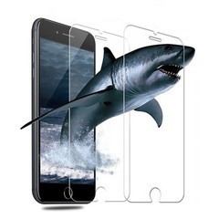 9H Hardness HD Tempered Glass Screen Protector for iPhone 8 Plus / 7 Plus TRANSPARENT