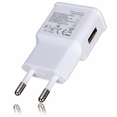 5V 2A USB EU Plug Mini Portable Travel Phone Charger Charging Adapter for Xiaomi WHITE
