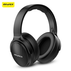 Awei A780BL Bluetooth 5.0 Headphones Hi-Fi Stereo Foldable Design for Game / Work BLACK