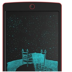 8.5 Inch LCD Writing Tablet- Electronic Writing Doodle Pad Drawing Board Gifts for Kids Office Writing Board BLACK AND RED