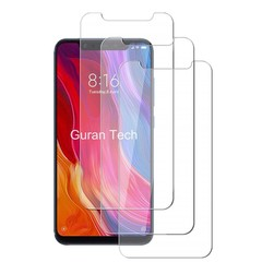 9H Tempered Glass Film for Xiaomi Mi 8 / Mi 8 Pro 3pcs TRANSPARENT