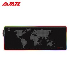 Ajazz AJPADS RGB Mousepad Gaming Wired Backlight Foldable Anti Slip Mouse Mat BLACK