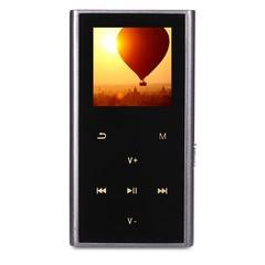Portable 8G Memory Storage FM Radio E-book MP3 Music Player BLACK
