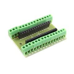 Nano V3.0   IO Shield Expansion Board GREEN PEAS