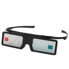 MX - 30 Bluetooth Detachable 3D Active Virtual Reality Glasses BLACK
