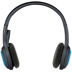 Logitech H600 Wireless Rotating Portable Headset with Microphone  BLACK