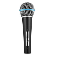 SCIMELO ND 58B Professional Handheld Wired Cardioid Dynamic HiFi Microphone BLACK
