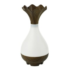 USB Ultrasonic Humidifier Aromatherapy Essential Oil Diffuser with LED Light MOCHA