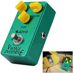 JOYO JF - 01 True Bypass Design Vintage Overdrive Electric Guitar Effect Pedal with Aluminum Alloy Material GREEN