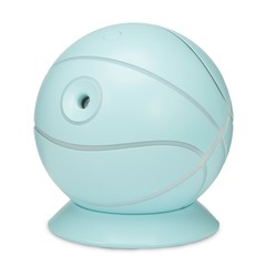 Large Capacity Basketball Car Air Humidifier with LED Light PALE BLUE LILY