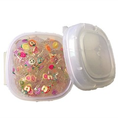 Candy Mud Not Sticky Hand DIY Decompression Toy MULTI-A