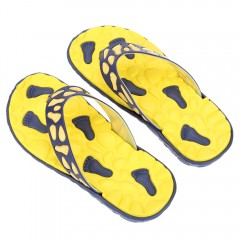 Summer Casual Skid Resistance Flip Flops Beach Sli YELLOW 43