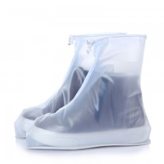 Fashion Waterproof Women Men Rain Snow Boots Shoes TRANSPARENT SIZE(34-35)