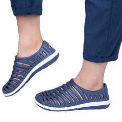 Casual Male Garden Lightweight Hollow Breathable S DEEP BLUE 41