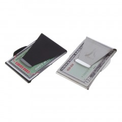 Stainless Steel Money Cash Clip Clamp Credit Card Holder Pocket Wallet Slim