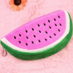 Watermelon Shape Stationery Pencil Case Pen Purse Bag Lovely Cosmetic Bag