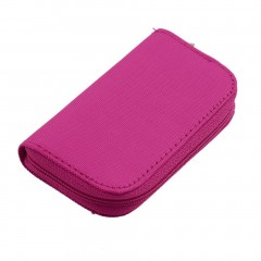 Security Digital Memory Card MMC CF Storage Carrying Pouch Case Holder Wallet
