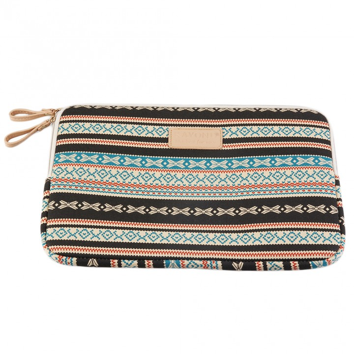 753d799607b Bohemian Design 12 /14 /15 Inch Canvas Laptop Bag Notebook Sleeve ...