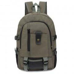 Men Canvas Backpack Vintage Rucksack Backpack School Bags Casual Travel Bags