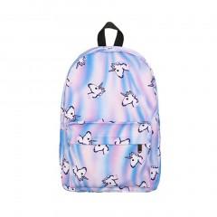 Uni-angle Animal 3D Printing Backpack Fashion Women Bag Travel Bag School Bag