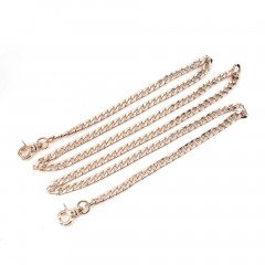 Metal Shoulder Bag Chain Strap 110cm Crossbody Bag Replacement Strap for Lady