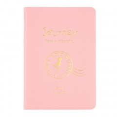 New Travel Passport Holder Protect Cover Case Card Ticket Container Pouch pink One Size