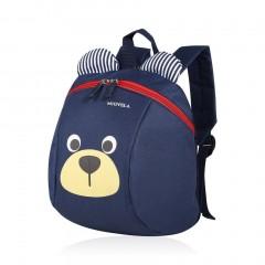 Lovely Cute Children Kids Anti-Lost Bag Kindergarten Toddler Backpack Bag blue One Size
