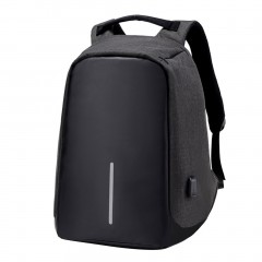 Large Capacity Waterproof Backpack Anti-theft Travel School Bags With USB Port