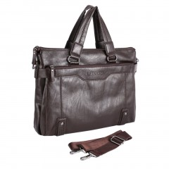 Men Briefcase Business Male Single Shoulder Bag Soft Leather Messenger Bags