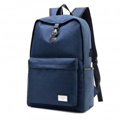 Fashion Design USB Charge Anti-theft Travel Backpack Outdoor Hiking School Bag
