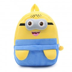 Cute Cartoon Kids Plush Backpack Toy Mini School Bag for Kids Aged 3-5 Years #1 One Size
