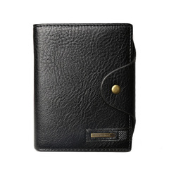 Men Wallets Design Short Small Wallets Male Mens Purses Card Holder black one size