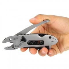 Multi-tool EDC Set Adjustable Wrench Jaw Screwdriv GRAY