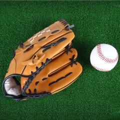 Outdoor Sports Brown Practice Left Hand Baseball G EARTHY 12.5