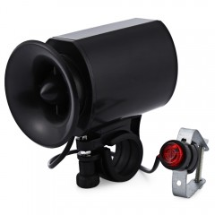 Bicycle Bike Ultra-loud Bell Horn Alarm Siren Spea BLACK