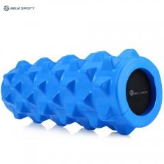 MILY SPORT PU Skin EVA Yoga Fitness Foam Roller Ph ROYAL BLUE