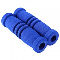 1 Pair MTB Bike Bicycle Handle Cover Handlebar Sof BLUE